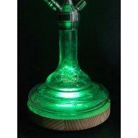 CRT LED Holzuntersetzer