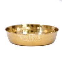 Kohleteller - gold